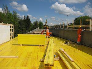Road construction, Switzerland